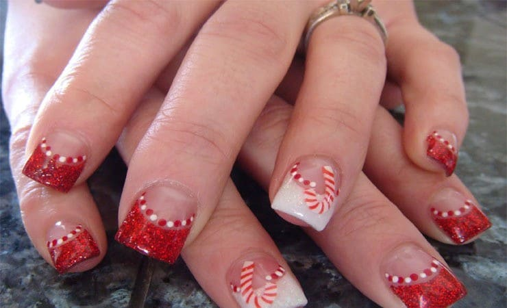 french tip nail designs 28