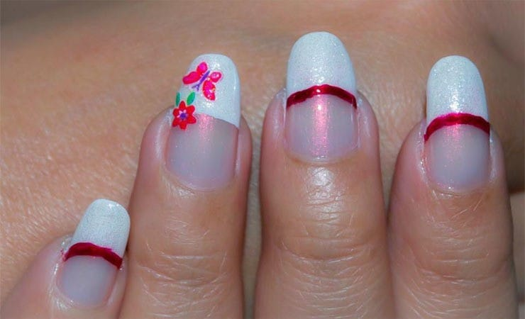 french tip nail designs 33