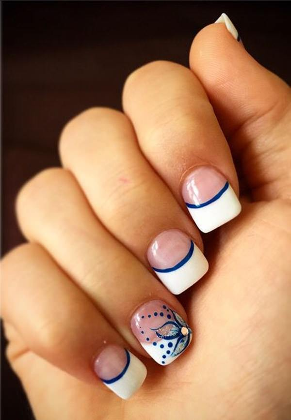 french tip nail designs 37