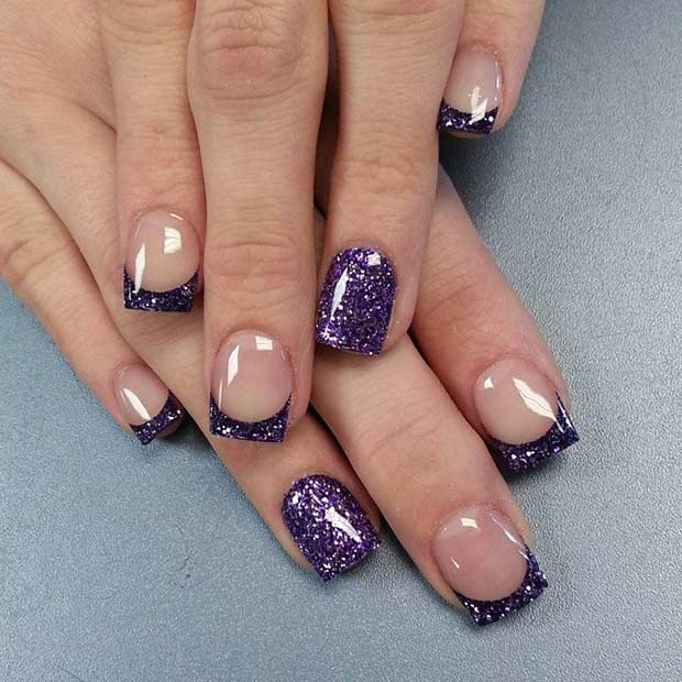 French Tip Nail Designs 4