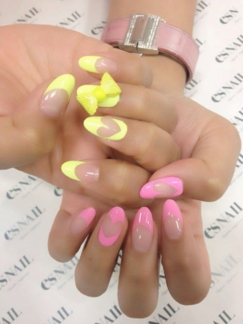 french tip nail designs 45