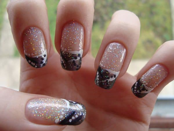 french tip nail designs 47