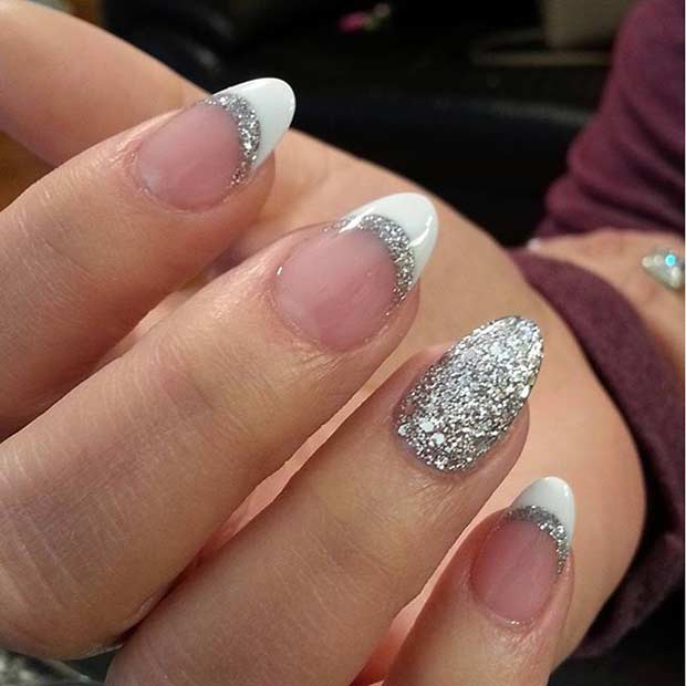 50 mind boggling french tip nail design ideas prinsesfo Gallery