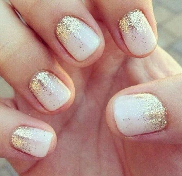 gold nail designs 10