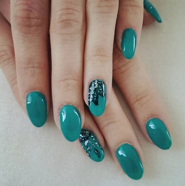 25 fun flattering green nail design ideas tiffany blue green nail designs 21 prinsesfo Gallery