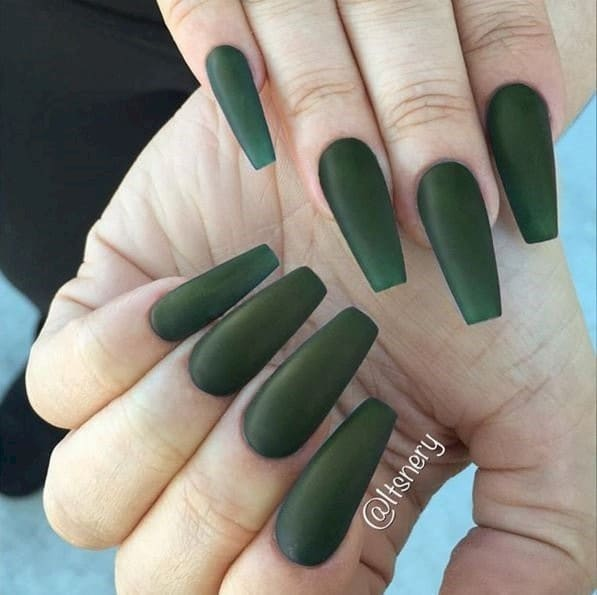 Green Nails With Designs Images Easy Nail Designs For Beginners