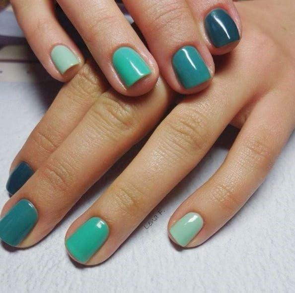 green nail designs 3