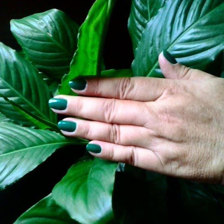 green nail designs 4