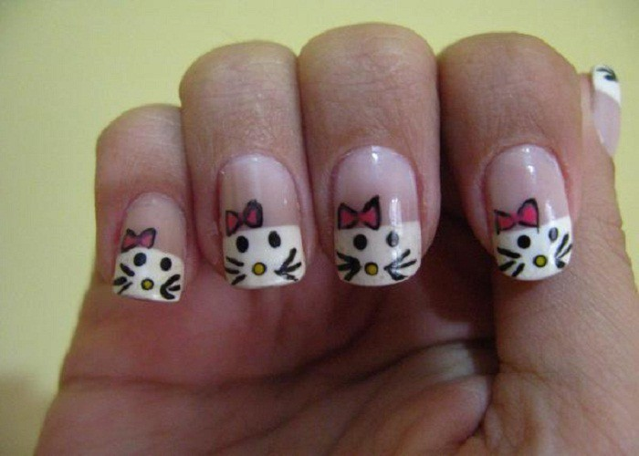 Topped With Cuteness nail idea for girl