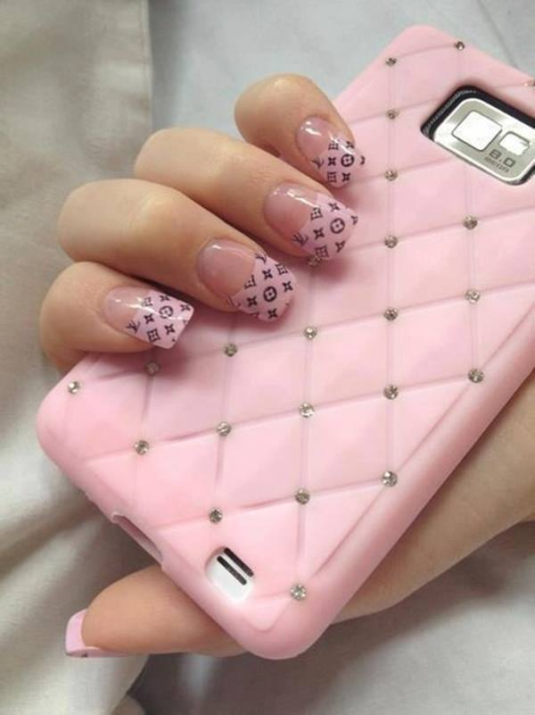 50 hottest pink nail designs trending right now hot pink nail designs 50 prinsesfo Choice Image