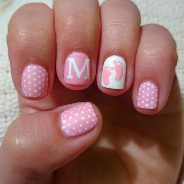 20 cute easy nail designs for little girls naildesigncode pink color little girl nail art prinsesfo Choice Image