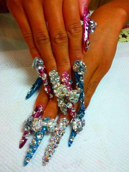 long nail designs 20