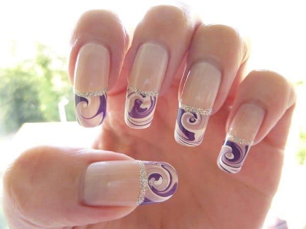 marble nail designs 5