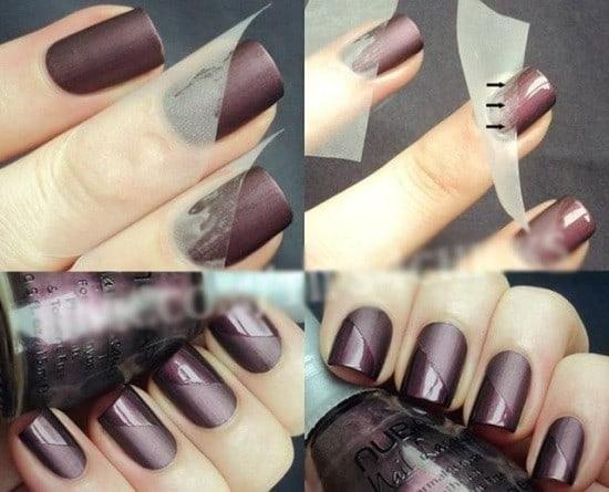 nice matte nail