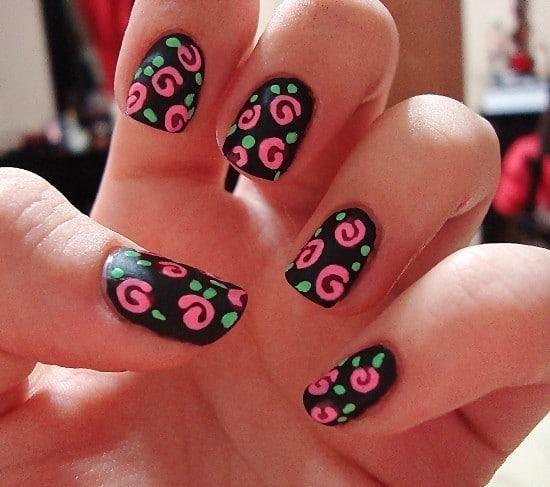 matte nail designs 21