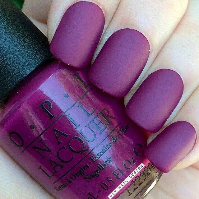 matte nail designs 6