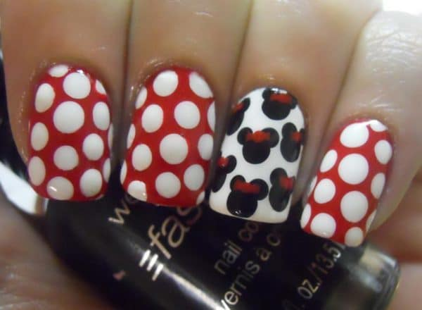 mickey mouse nail designs 4