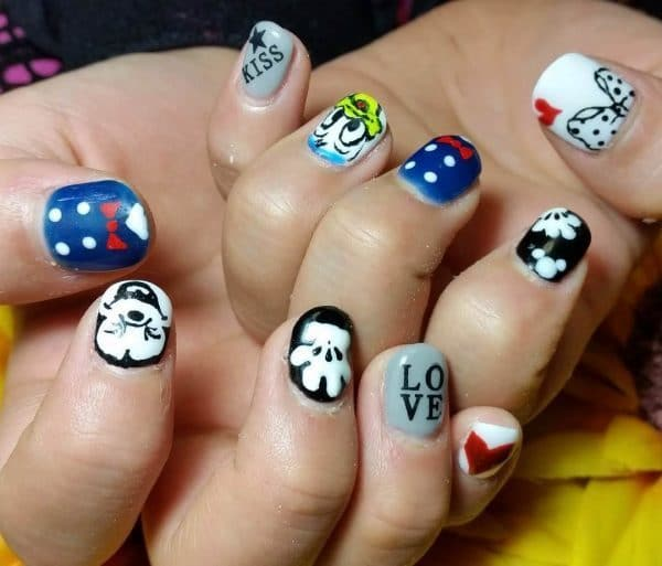 nail designs for kids 14