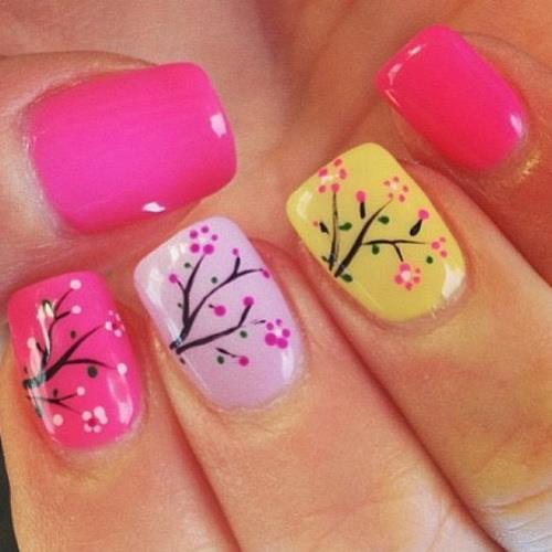 nail designs for kids 18