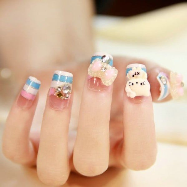 nail designs for kids 25