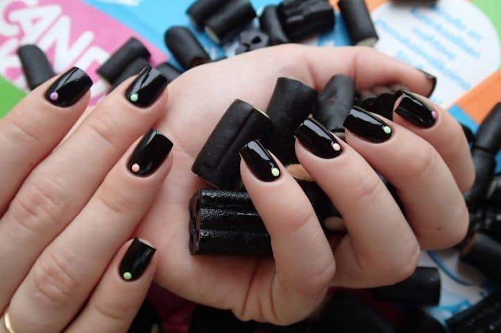 nail designs with rhinestones 2