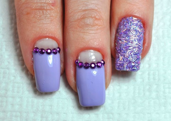 nail designs with rhinestones 20