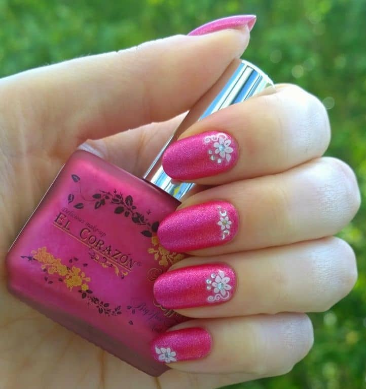 nail designs with rhinestones 23