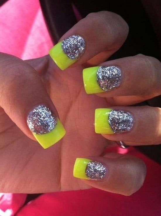 neon nail designs 6 - 10 Captivating Neon Nail Designs - Beautify Your Nails