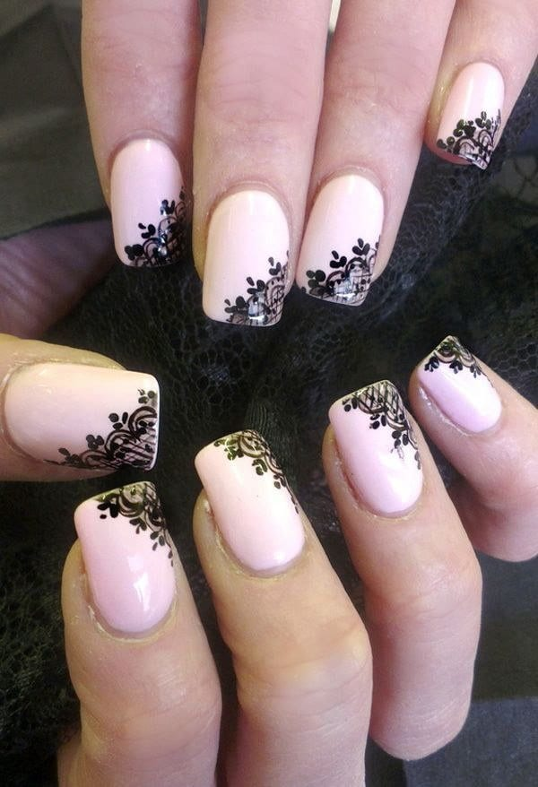 Blush Pink nail idea you like
