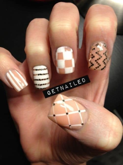 nice ring finger nail designs for women