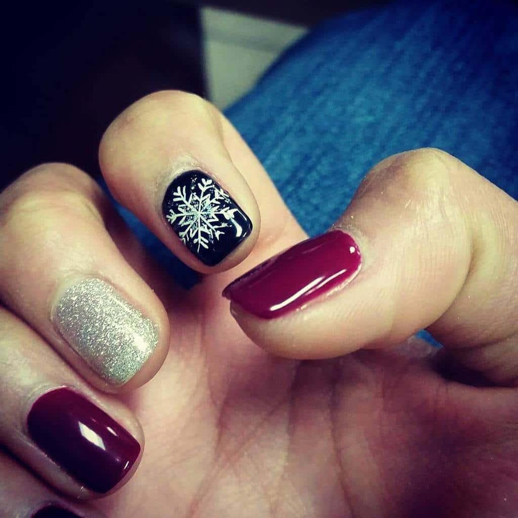 shellac nail designs 12