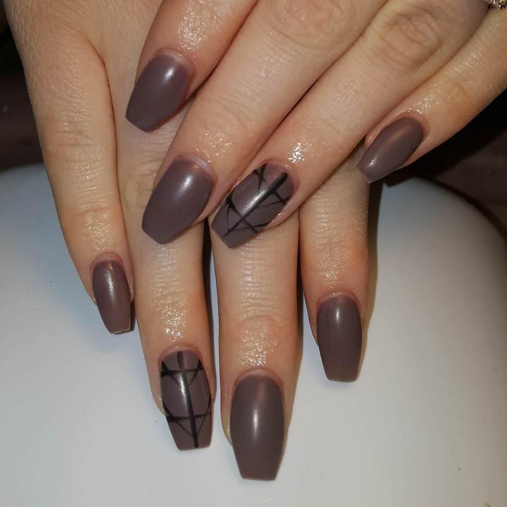 shellac nail designs 16