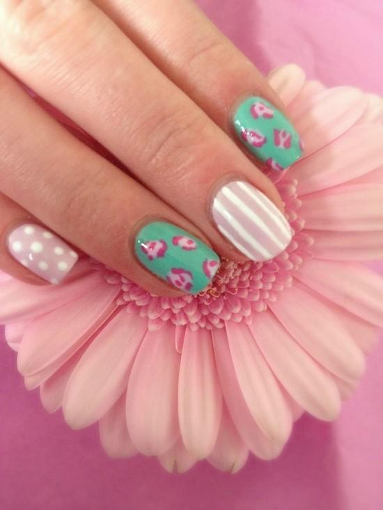 shellac nail designs 19