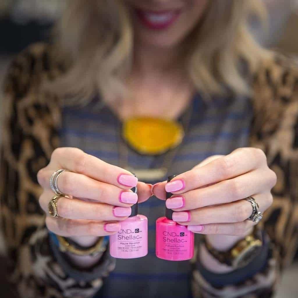 shellac nail designs 24