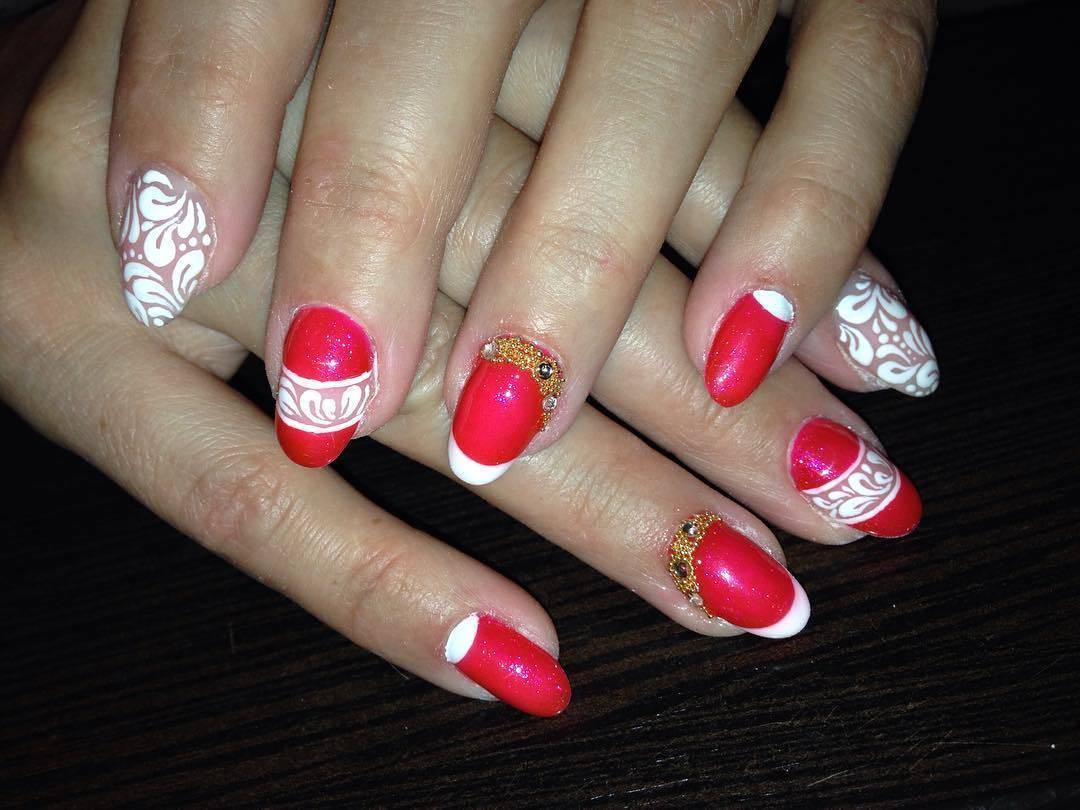 Art On Shellac nail art for girl