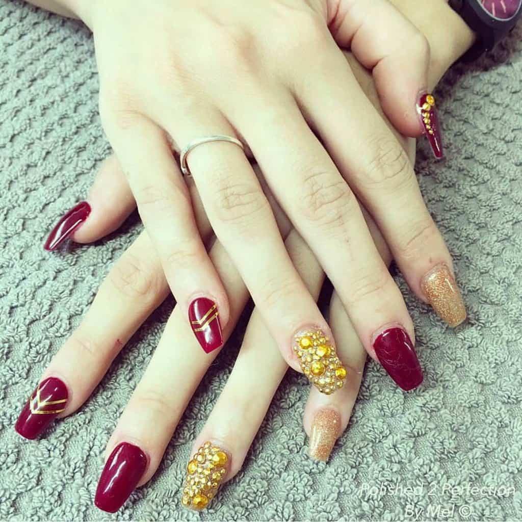 shellac nail designs 5