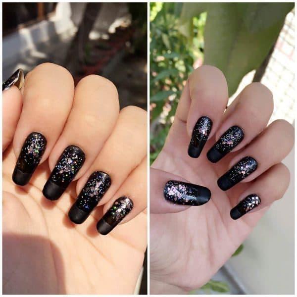 silver nail designs 8