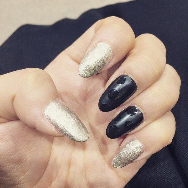 silver nail designs 9
