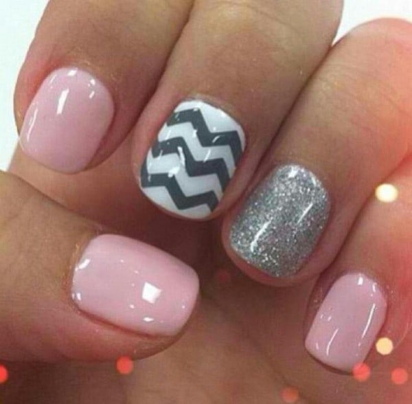 designs Combo simple naildesign