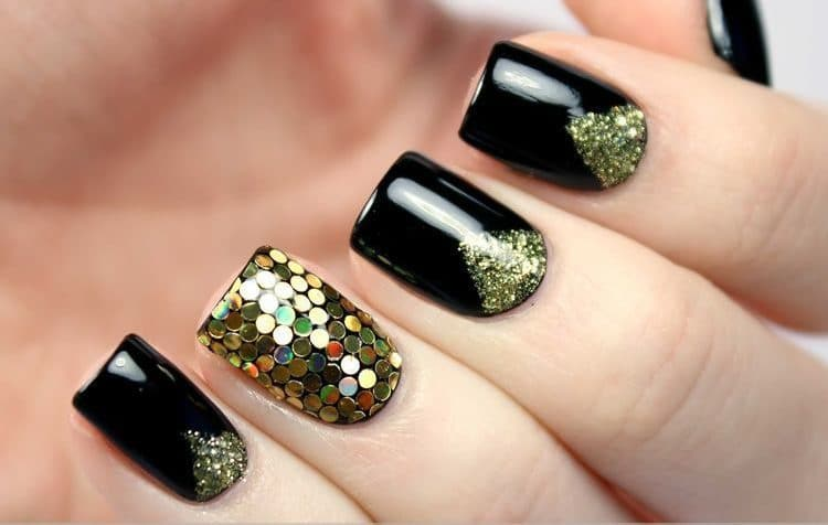 Bejeweled Nails art for women