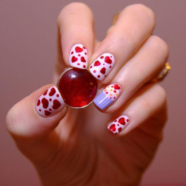 simple & easy nail designs ideas 33