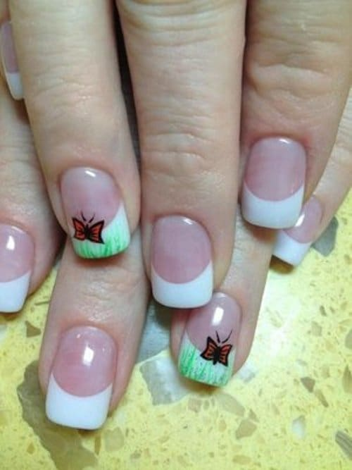 7 creative solar nail designs for natural looking nails solar nail designs 3 prinsesfo Gallery