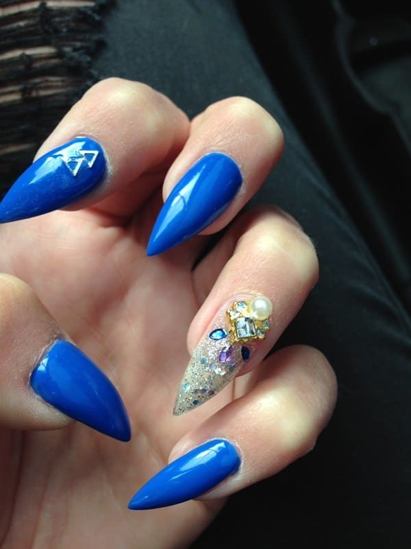 stiletto nail designs 34