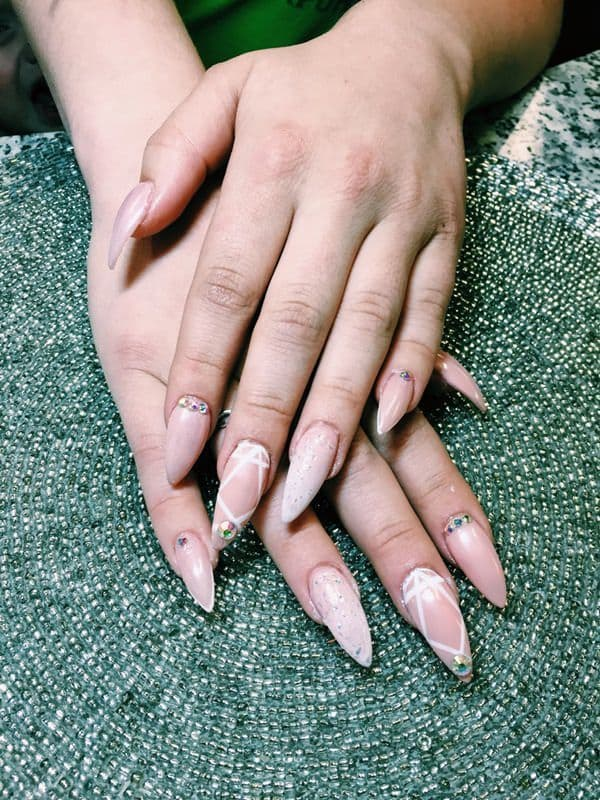 hand Nude nail idea you like