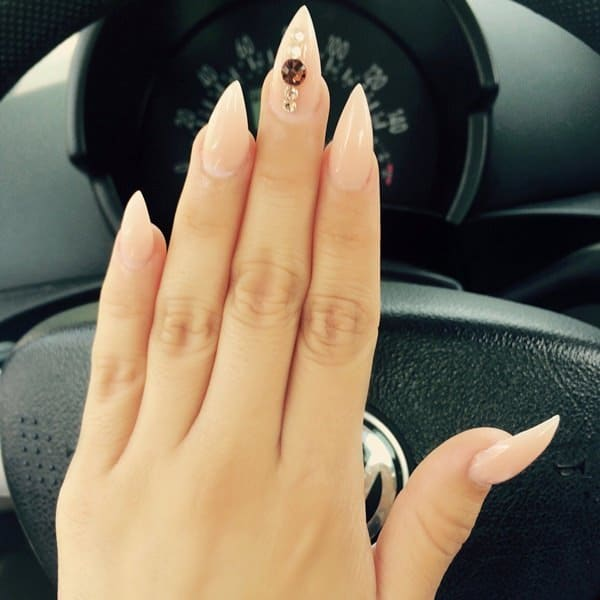 stiletto nail designs 42
