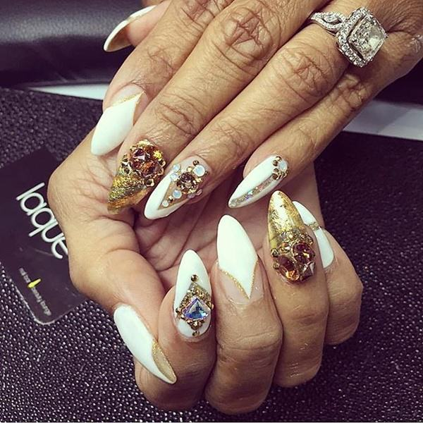 stiletto nail designs 43