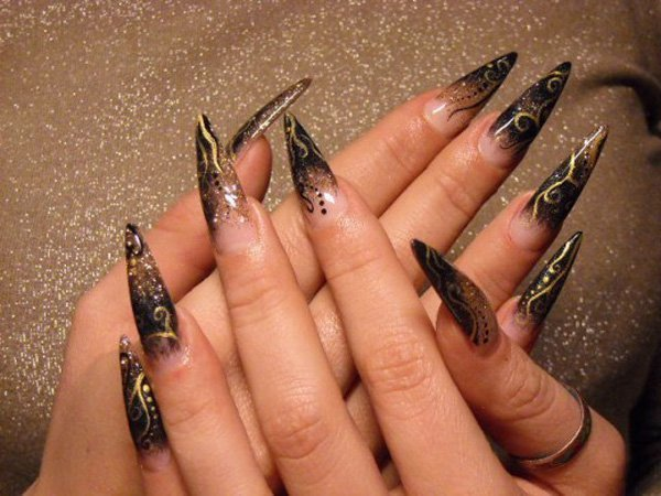 stiletto nail designs 48