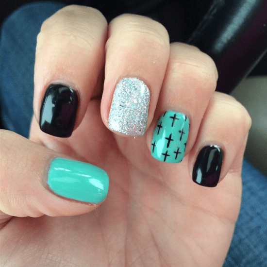 15 Teal Nail Designs Youll Fall In Love With Naildesigncode