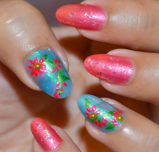 tropical nail designs 4
