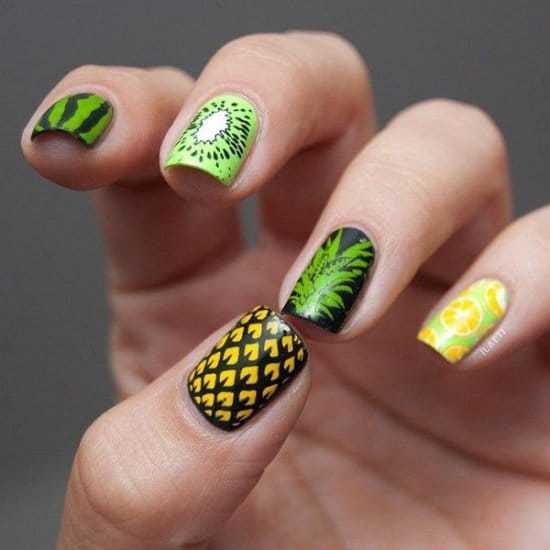 tropical nail designs 7